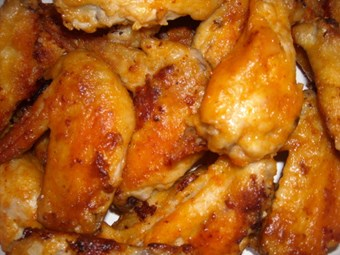 Hooters Buffalo Wings Oven Style