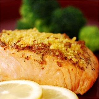 Baked Dijon Salmon Fillets