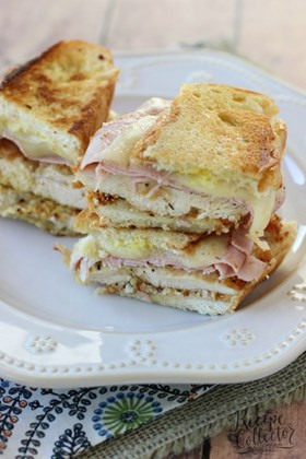 My Fav Sandwich: Chicken Cordon Bleu Panini