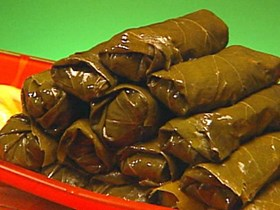 Stuffed Grape Leaves I