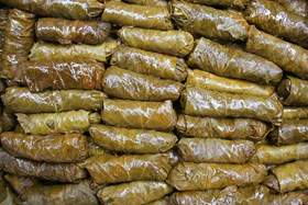 Stuffed Grape Leaves 2