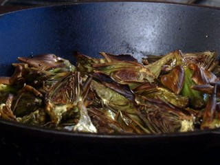 Roasted Baby Artichokes