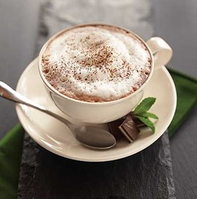 Chocolate Mint Cappuccino
